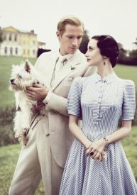 James D'Arcy and Andrea Riseborough in W.E.