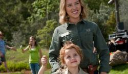 Scarlett Johansson gets upstaged by Maggie Elizabeth Jones in We Bought a Zoo.