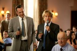 Vince Vaughn and Owen Wilson in Wedding Crashers.