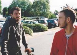Tom Cullen and Chris New in Weekend.