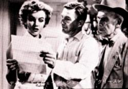 Marilyn Monroe, David Wayne and James Gleason in We're Not Married!