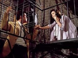 Richard Beymer and Natalie Wood in West Side Story.
