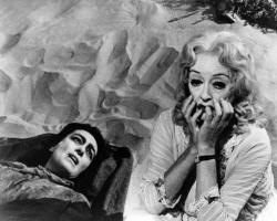 Joan Crawford and Bette Davis in Whatever Happened to Baby Jane.