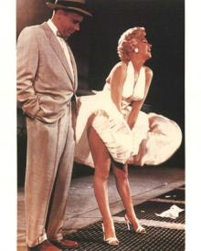 What a difference 50 years make.  Marilyn Monroe and Tom Ewel in The Seven Year Itch.