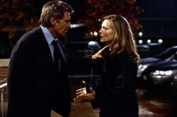 Harrison Ford and Michelle Pfeiffer in What Lies Beneath.