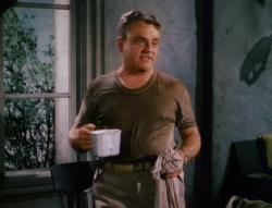 James Cagney in What Price Glory.