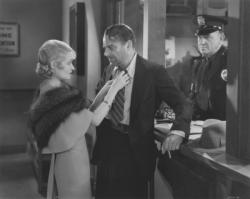 Constance Bennett and Lowell Sherman in What Price Hollywood?.