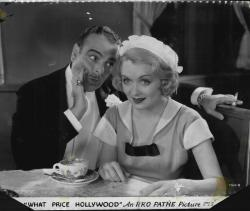 Lowell Sherman and Constance Bennett in What Price Hollywood?.