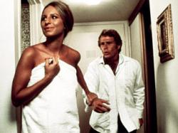 Barbra Streisand and Ryan O'Neal in What's Up Doc?.