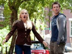 Anna Faris and Chris Evans in What's Your Number?