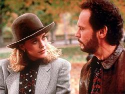 Meg Ryan and Billy Crystal in When Harry Met Sally.