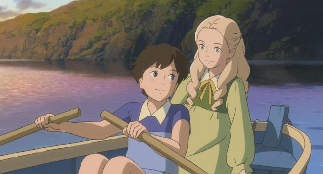 Anna and Marnie in When Marnie was There.