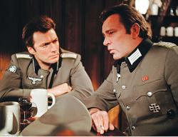 Clint Eastwood and Richard Burton in Where Eagles Dare.