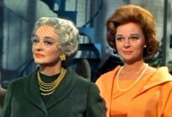 Bette Davis and Susan Hayward in Where Love Has Gone.