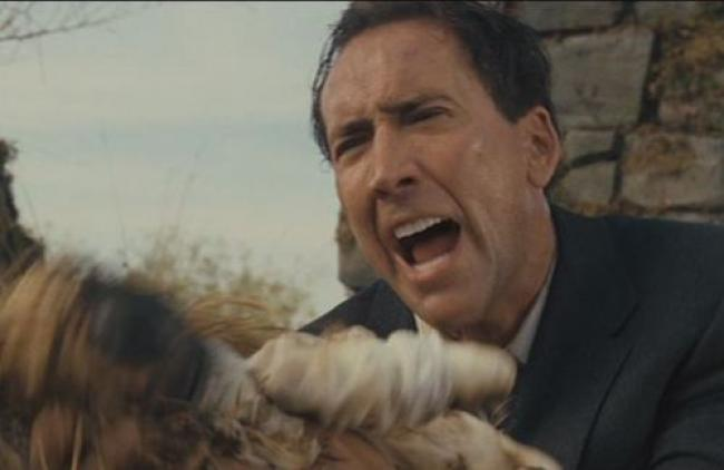 Nicolas Cage really wants to know how it got burned in The Wicker Man.