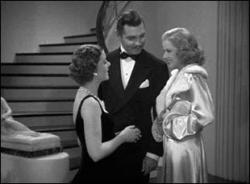 Myrna Loy, Clark Gable and Jean Harlow in Wife vs. Secretary.