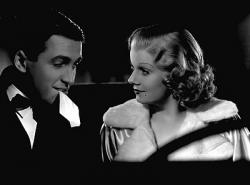 James Stewart and Jean Harlow in Wife Vs. Secretary.