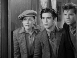 Dorothy Coonan, Frankie Darro and Edwin Phillips in Wild Boys of the Road.