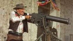 A bloody William Holden in The Wild Bunch.