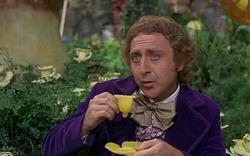 Gene Wilder in Willy Wonka and the Chocolate Factory.