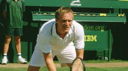 Paul Bettany in Wimbledon.