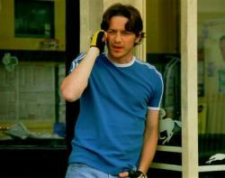 A young James McAvoy in Wimbledon.