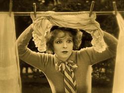 Clara Bow in Wings.