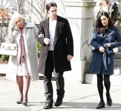 Eva Marie Saint, Colin Farrell, and Jennifer Connelly in Winter's Tale.