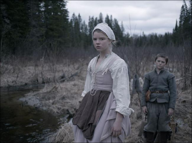Anya Taylor-Joy and Harvey Scrimshaw in The Witch