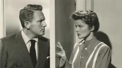 Spencer Tracy and Katharine Hepburn in Without Love
