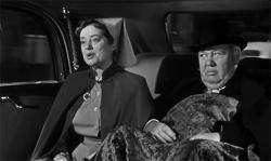 Elsa Lanchester and Charles Laughton in Witness for the Prosecution.