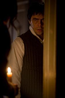 Benicio Del Toro in The Wolfman.