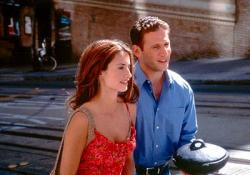 Penelope Cruz and Mark Feuerstein in Woman on Top.