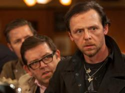 Nick Frost and Simon Pegg in The World's End.