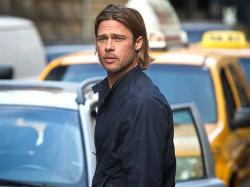 Brad Pitt in World War Z.