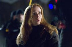 Gillian Anderson as Dana Scully gives an impressive performance.
