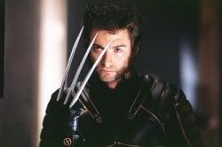 Hugh Jackman in X-Men.
