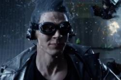 Evan Peters as Quicksilver in X-Men: Days of Future Past.
