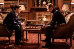 James McAvoy and Michael Fassbender in X-Men: First Class.