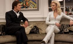 Kevin Bacon and January Jones in X-Men: First Class.