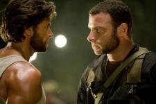 Jackman and Schreiber face off as Wolverine and Sabretooth.