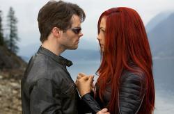 James Marsden and Famke Janssen in X-Men: The Last Stand.