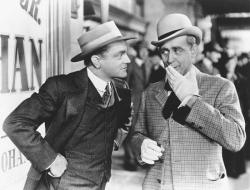 James Cagney and Eddie Foy Jr. in Yankee Doodle Dandy.