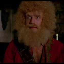 Graham Chapman was born a pirate as Yellowbeard would say, and he got to prove it in the movie of the same name.