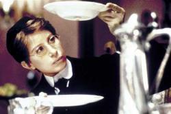 Barbra Streisand in Yentl.