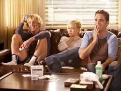 Owen Wilson, Kate Hudson and Matt Dillon in You, Me and Dupree.