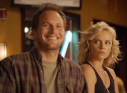 Patrick Wilson and Charlize Theron in Young Adult.
