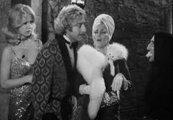 Teri Garr, Gene Wilder, Madeline Kahn and Marty Feldman in Young Frankenstein.