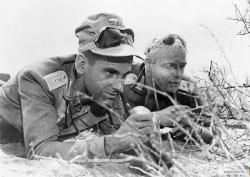 Maximilian Schell and Marlon Brando in The Young Lions