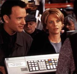 Tom Hanks and Meg Ryan in You've Got Mail.